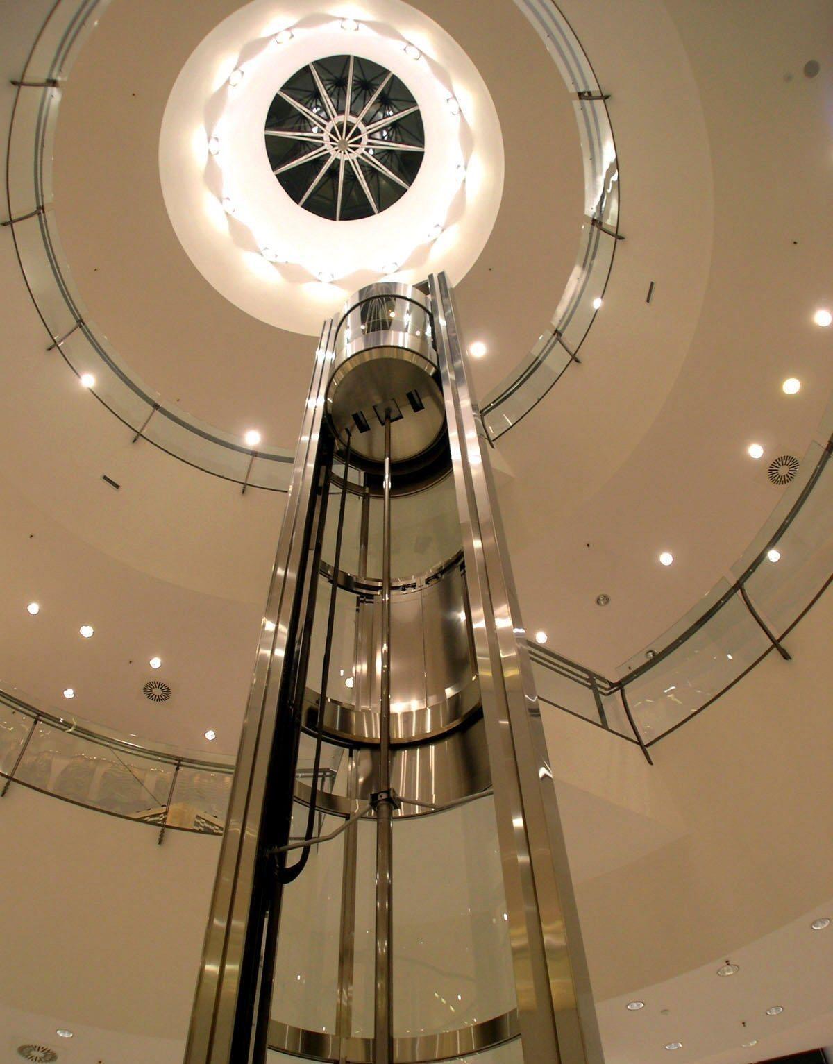 Era ascensori ascensori panoramici for Dimensioni ascensore
